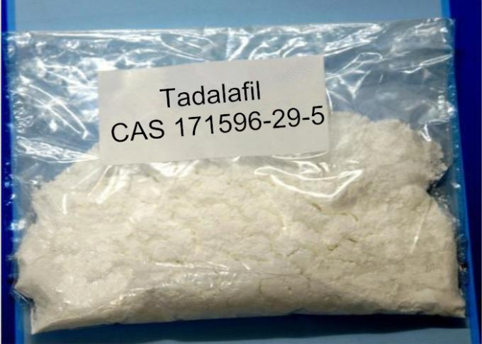 Tadalafil Raw Steroid Powders Hormone Tadalafil / Cialis For Erectile Dysfunction Treatment