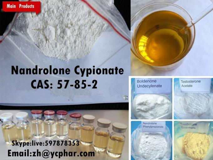 99% Purity Bodybuilding Steroid Nandrolone Cypionate Powder 601-63-8
