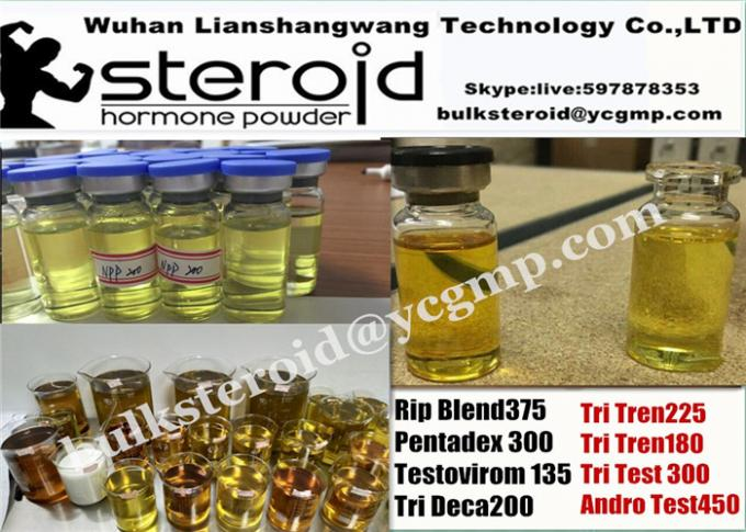 Pre - mixed Yellow Oil Testosterone Cypionate 250mg/ml Ready