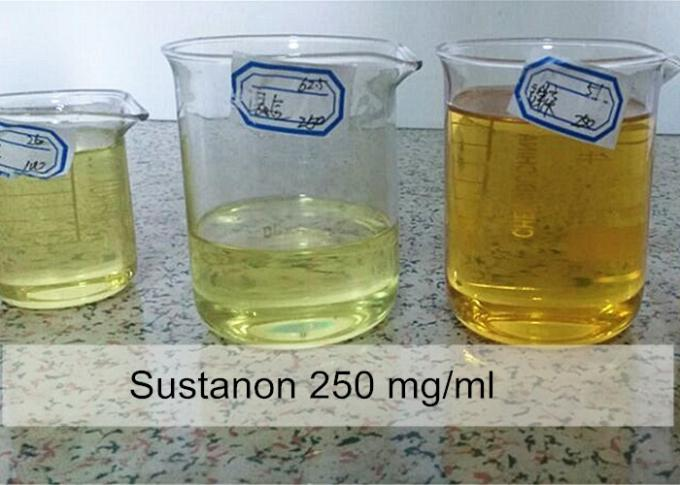 Anabolic Injectable Steroids Sustanon 250 mg / ml Blend oil For Cutting Cycle