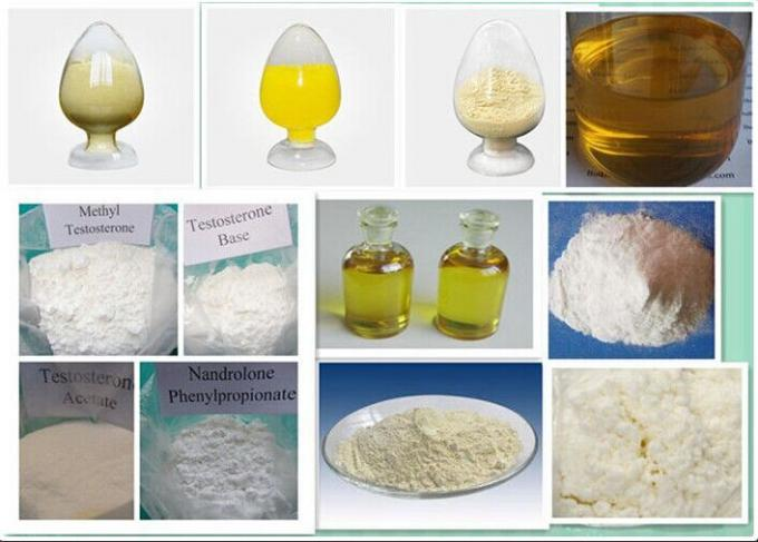 Bodybuilding Tren Anabolic Steroid Yellow Powder Methyltrienolone 965-93-5