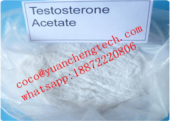 CAS 1045-69-8 Testosterone Steroids Test Acetate Powder For Sex Enhance and Muscle Gaining