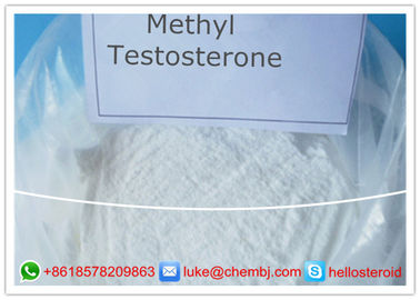 China Professional 17-Methyltestosterone Steroid Powder CAS 58-18-4 For Promote Male Sex Organs supplier