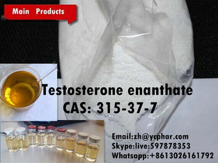 China Pure Testosterone Enanthate Testoviron Injection Test Raw Steroids Powder Source supplier