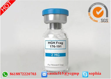 China Professional Polypeptide Lyophilized Powder HGH Fargment 176 191 For Fitness supplier