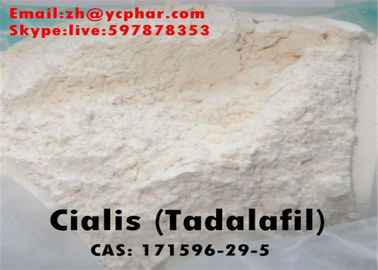 China Tadalafil Raw Steroid Powders Hormone Tadalafil / Cialis For Erectile Dysfunction Treatment supplier