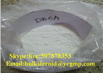 China Loose Fat DECA Durabolin Nandrolone Decanoate Steroid Powder Male Muscle supplier
