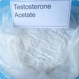 China Raw Steroid Hormone Powder Testosterone Acetate for Muscle Strength CAS1045-69-8 supplier
