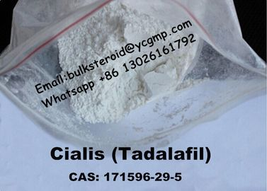 China Pharmaceutical Pure Tadalafil Powder / Sildenafil Cialis Ingredient For Promote Sex supplier
