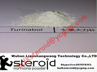 China Oral Turinabol Steroid Powder 4-Chlorodehydromethyltestosterone for Muscle Building supplier