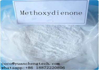 China Pharmaceutical Raw Materials Methoxygonadiene / Max-LMG for Decreasing Estrogen-like Effects supplier