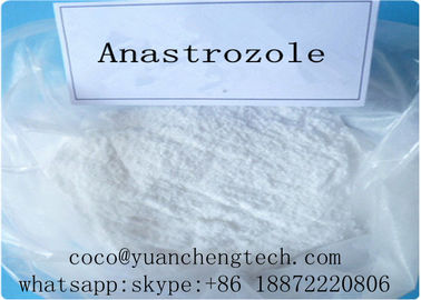 China Anastrozole Arimidex Selective Estrogen Receptor Modulators Steroids MF C17H19N5 supplier