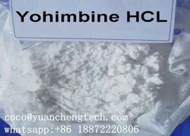 China Yohimbina Popular Sex Enhancer Steroid Yohimbine HCl Supplement White Crystalline Powder supplier