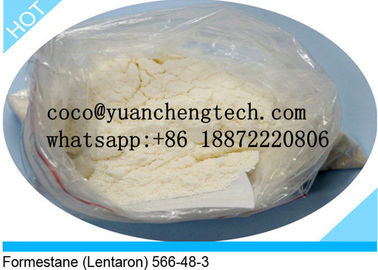 China 566-48-3 Raw Material Powder Weight Loss Steroids Formestane Lentaron supplier