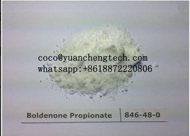 China Light Yellow Powder Equipoise Boldenone Propionate Loosing Fat Light Yellow Powder supplier
