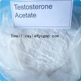 China 99% Purity Legal Testosterone Anabolic Steroid CAS 1045-69-8 Testosterone Acetate supplier