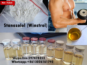 China High Purity Raw Steroid Powders Stanozolol Stromba For Bulking Cycle supplier