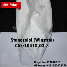 China White Crystalline Powder Muscle Building Anabolic Winstrol / Winny For Cutting Cycles supplier