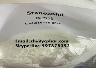 China ​Muscle Building Anabolic Steroid Powder Stanozolol For Bodybulider Supplements , USP BP standard supplier