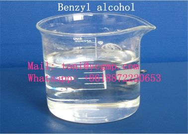China Transparent Liquid Pharmaceutical Raw Materials Safe Organic Solvents Benzyl Alcohol supplier