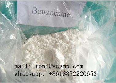 China 99% Purity Pharmaceutical Raw Materials Benzocaine Powder For Local Anesthesia CAS 94-09-7 supplier