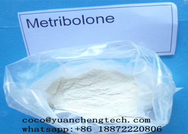 China Methyltrienolone / Metribolone Trenbolone Acetate Steroid Hormone Powder For Fat Loss supplier