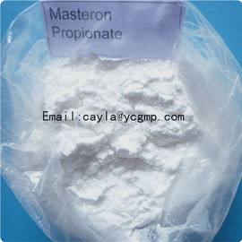China CAS 566-19-8 Raw Steroid Powders Bodybuilding Drostanolone Propionate Steroids supplier