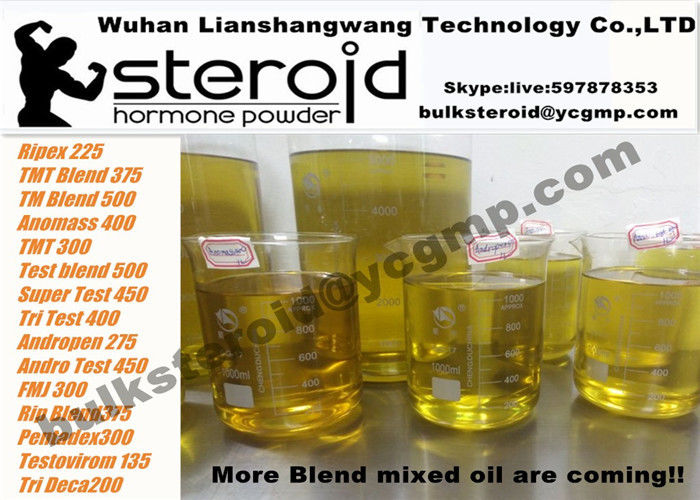 Pre - mixed Yellow Oil Testosterone Cypionate 250mg/ml Ready for