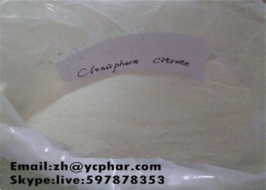 China Professional Oral Anabolic Steroids / Clomifene Citrate Clomid Anti-estrogen Powder distributor