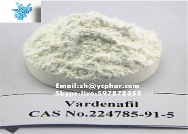 China Vardenafil / Vardenafil HCL Male Steroid White Powder , Safe Shipment distributor