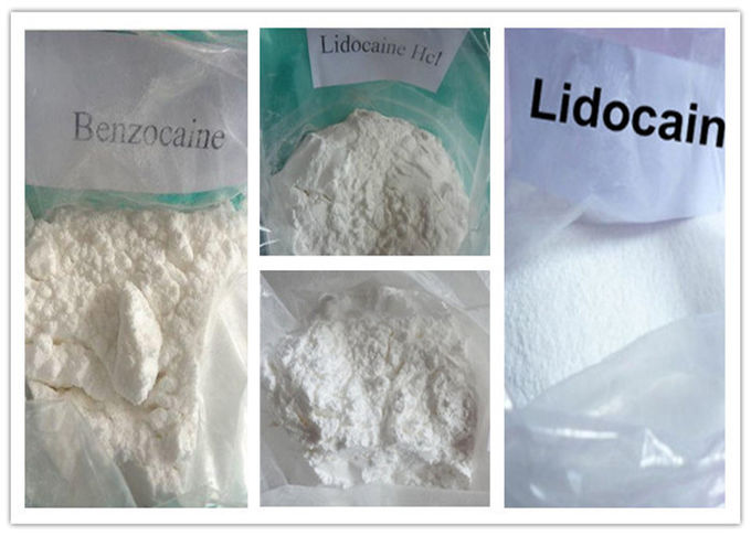 CAS 94-09-7 Local Anesthetic Drugs Benzocaine Powder High Purity GMP ISO Certification
