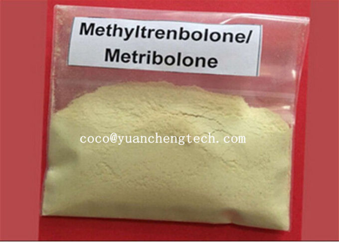 Methyltrienolone / Metribolone Trenbolone Acetate Steroid Hormone Powder For Fat Loss